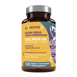 EXTRA VIRGIN NORWEGIAN SALMON OIL (2-month supply)